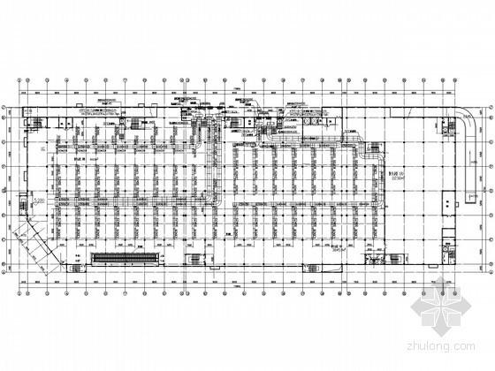 [上海]生活购物中心空调通风设计施工图