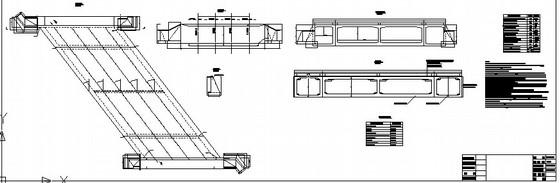 [山东]钢筋混凝土框架桥顶进竣工设计图