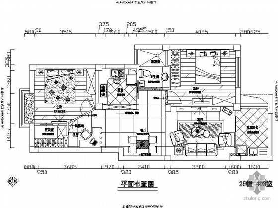 [宁波]某二居室装修图