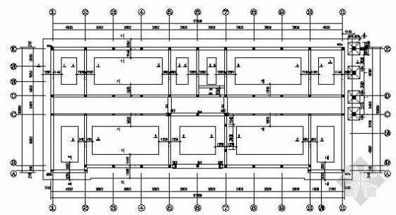 某综合办公楼砖混结构图纸