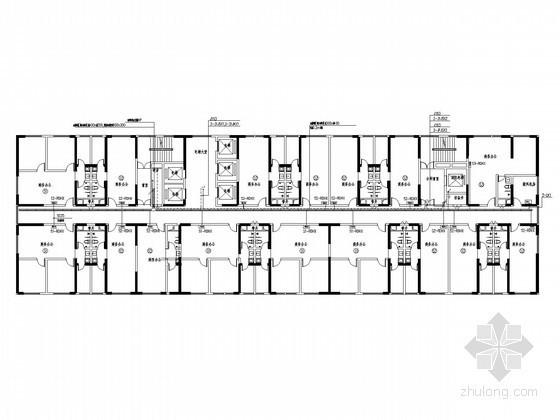 [山东]商务办公楼强弱电施工图纸80张(双甲级设计院)