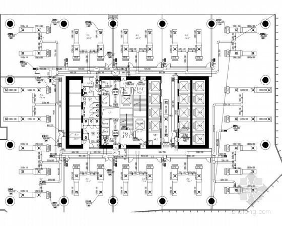 [广州]超高层办公塔楼通风空调系统设计施工图(含夹层 避难层)