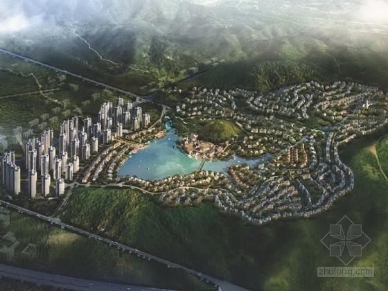 欧式风格外墙效果图资料下载-[广东]欧式风格住宅区规划及单体设计方案文本
