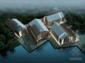 [山东]某二层大型休闲茶室建筑设计方案文本