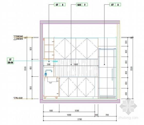 [广联达]徐州住宅楼户型样板间装饰工程报价实例