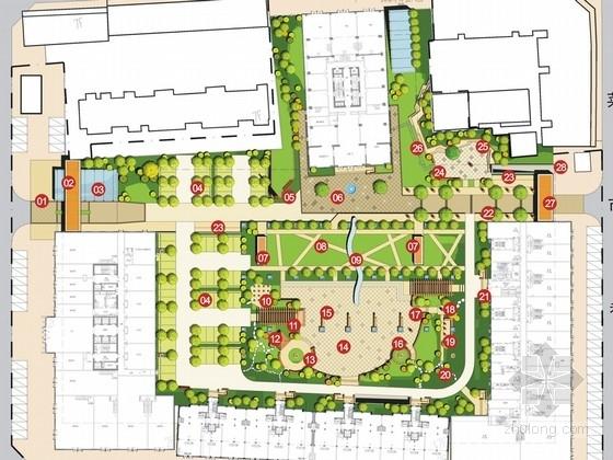 [宁夏]居住区景观概念设计方案文本