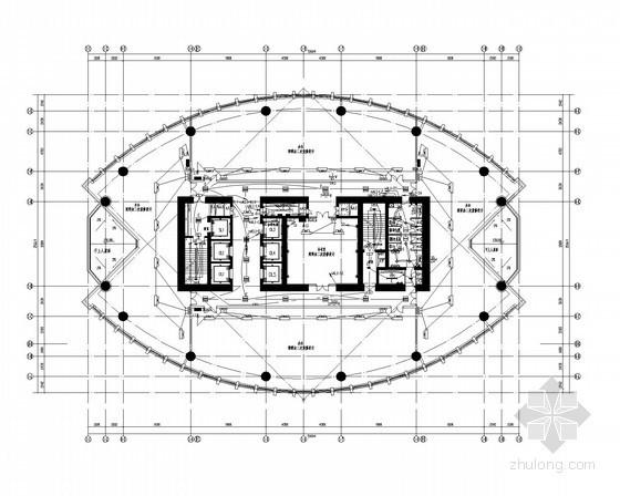 [安徽]知名超高层办公楼强弱电全套施工图纸(含计算书、189米)