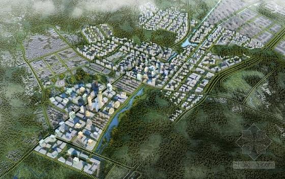 [浙江]城市综合服务中心概念设计方案文本(新型教育产业基地)