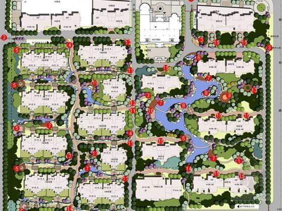 [石家庄]小区景观设计方案