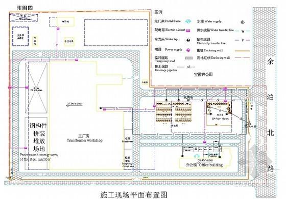 [湖北]变压器厂房工程施工组织设计(钢排架结构 中建)