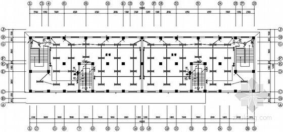 六层商住楼电气施工图纸