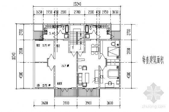 遵义市外环路沙河区修建性规划住宅楼方案图8-3