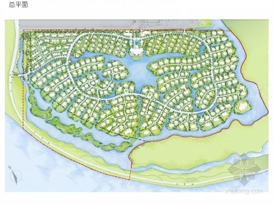[江苏]滨水生态小镇景观方案设计