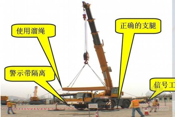 [湖北]商场项目起重吊装施工安全教育培训讲义