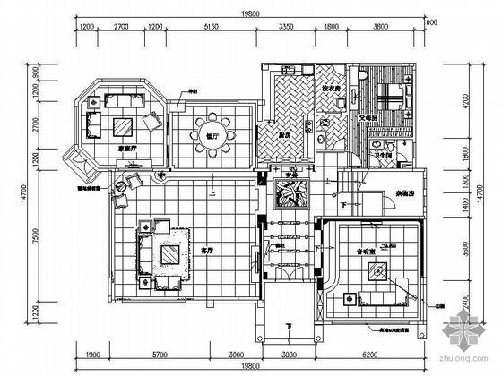 三层别墅装修图纸