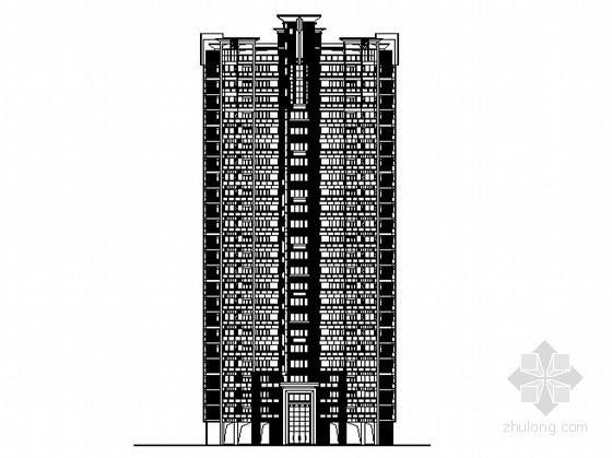 [东莞市]某镇社区农民公寓9号楼建筑施工图