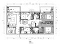 融侨二季三居室住宅设计施工图(附效果图)