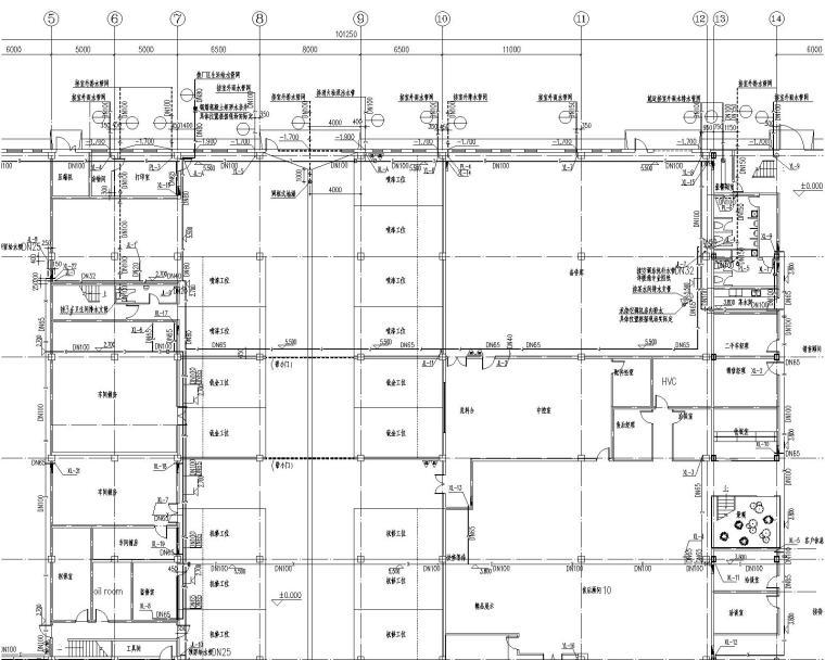 UPVC与HDPE资料下载-通辽4S店给排水施工图纸