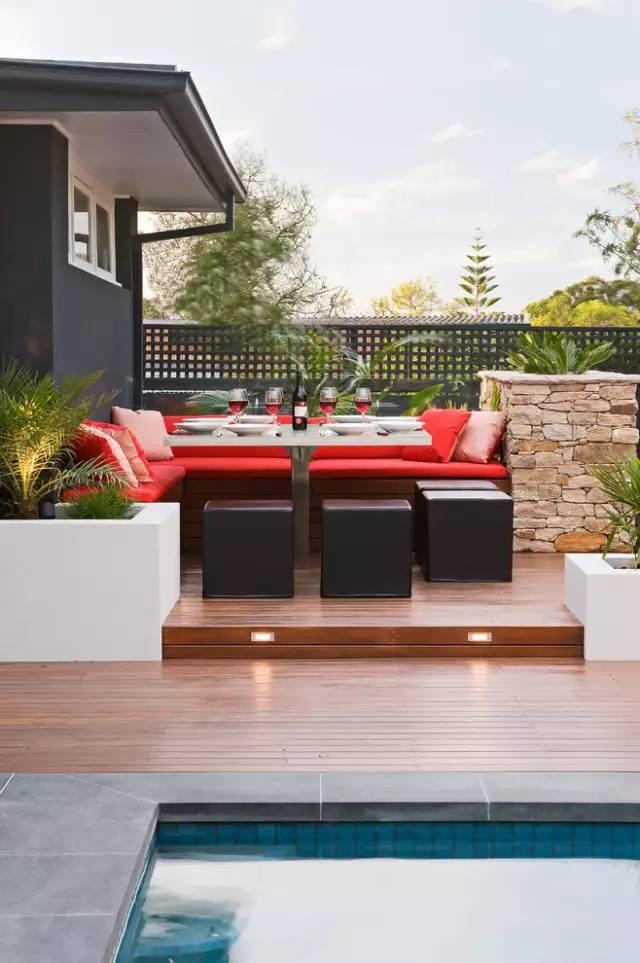 赶紧收藏!21个最美现代风格庭院设计案例_89