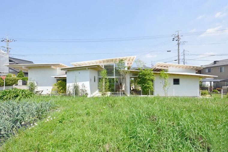 日本六片屋顶住宅
