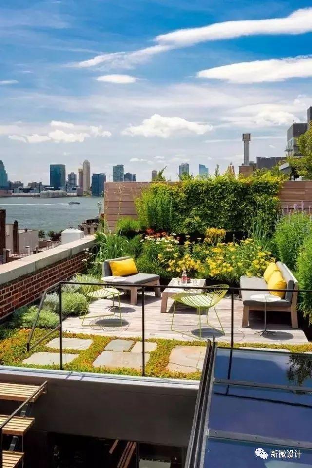 六个最美屋顶花园案例