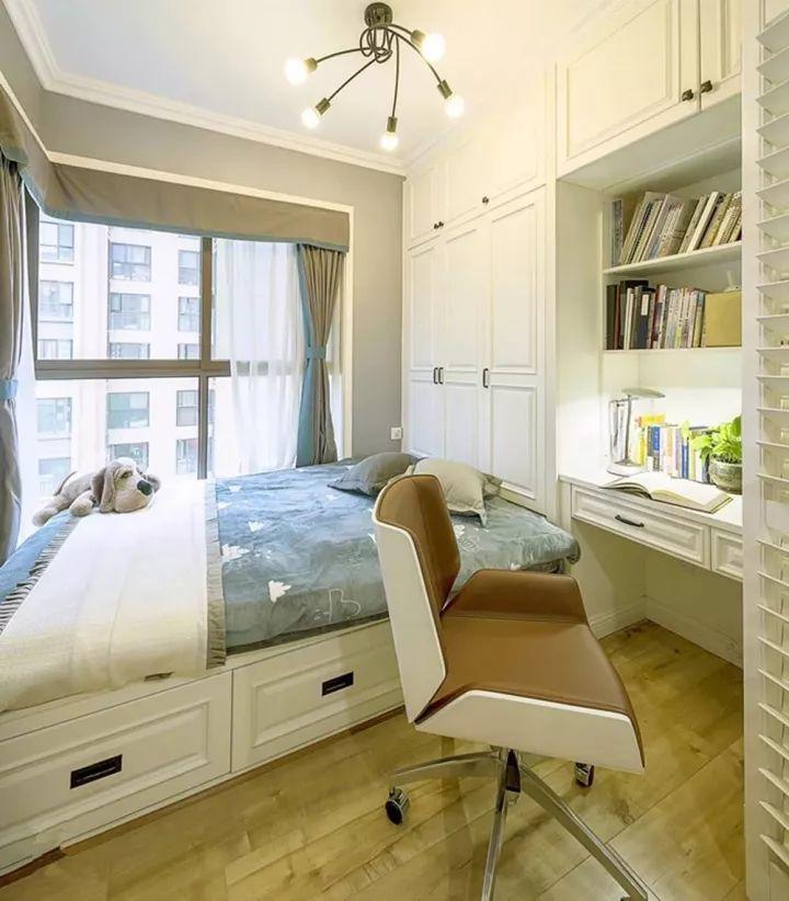 榻榻米床+柜子如何组合设计?35个案例告诉你..._17