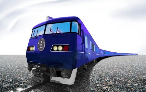 "JR西日本长距离列车""WESTEXPRESS银河""外装效果图"