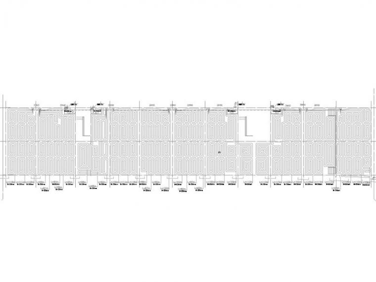 [河北]大型商业住宅小区采暖通风系统设计施工图(大院设计)