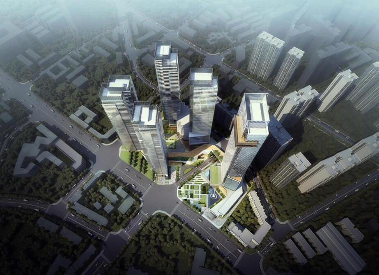 [四川]成都新希望华丽大道现代风格建筑方案文本设计(PPT+200页)