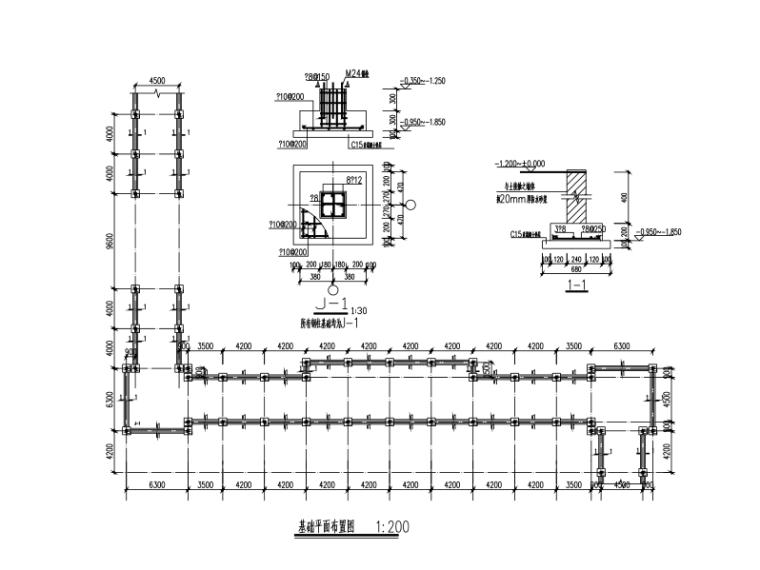 钢结构医院连廊设计图