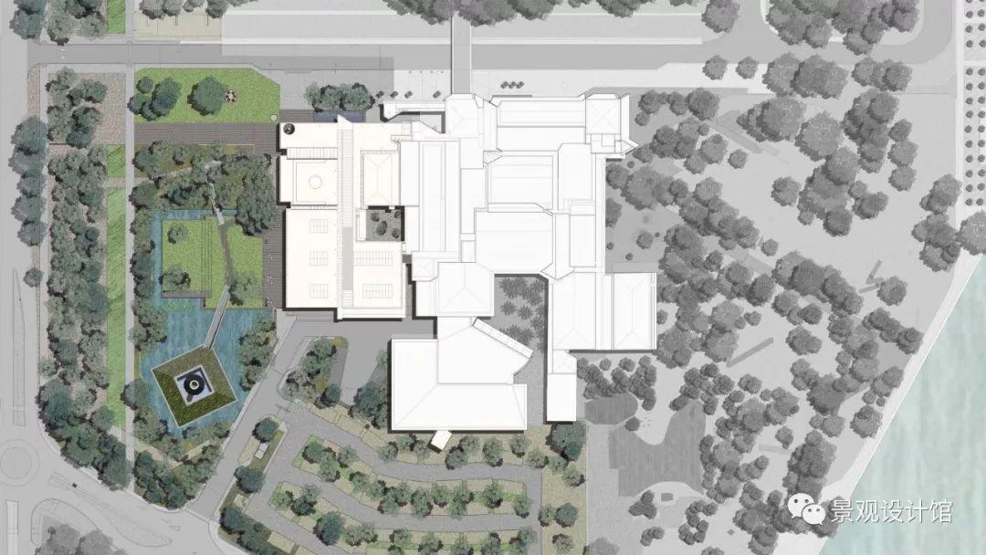澳大利亚国家美术馆花园景观设计案例欣赏