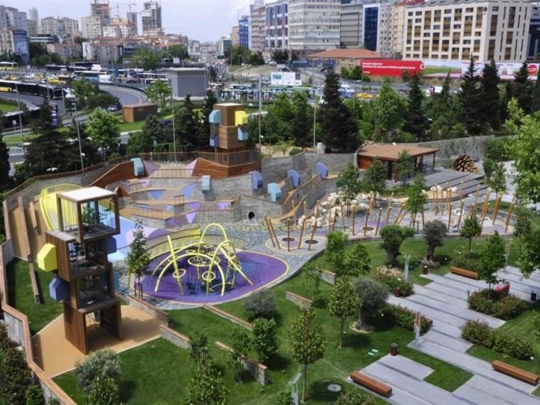 土耳其孩子们的主题游乐园