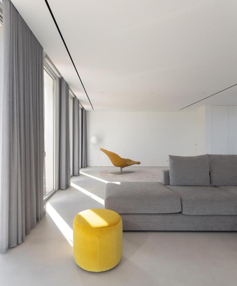 葡萄牙雕塑艺术般写意的住宅-1551071440340282