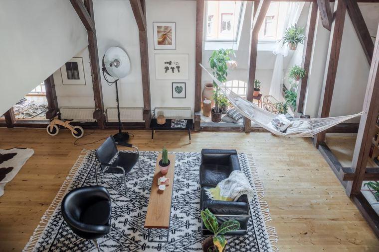 斯德哥尔摩顶层公寓改造-00