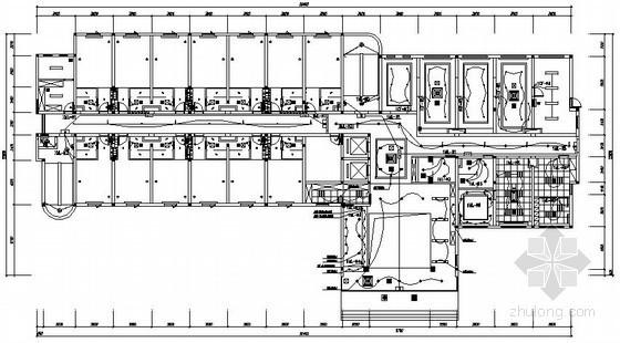 [上海]六层快捷酒店电气施工图纸