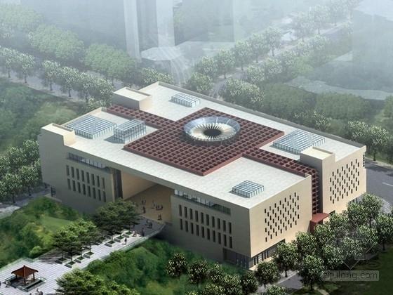 [东莞]某四层文化活动中心建筑方案文本(含CAD)