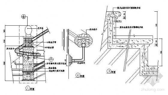 楼梯扶手详图