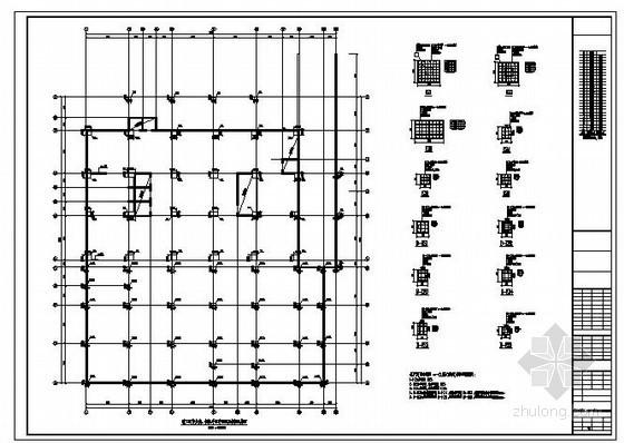 某24层框架剪力墙结构设计图