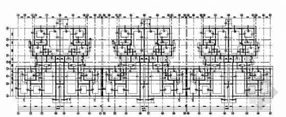 某七层砖混结构花园洋房结构图纸