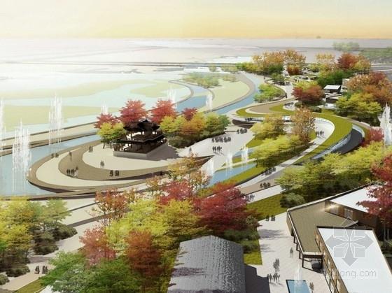 [陕西]江南园林风格主题公园景观设计方案