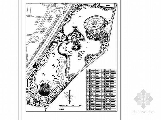 [大连]生态园园林景观工程施工图
