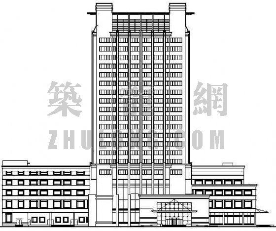 某高层酒店建筑设计方案