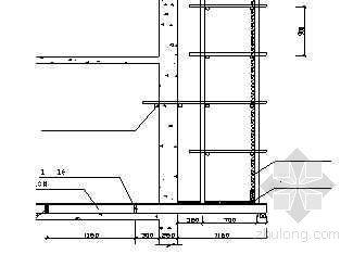 某工程外脚手架专项施工方案(双排落地、工字钢悬挑)