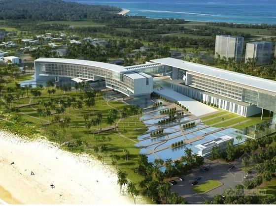 [三亚]弧线型度假酒店及豪华别墅区规划设计方案文本