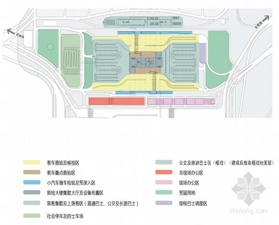 [广东]珠三角地区核心口岸交通枢纽规划设计方案文本-珠三角地区核心口岸交通枢纽规划分析图