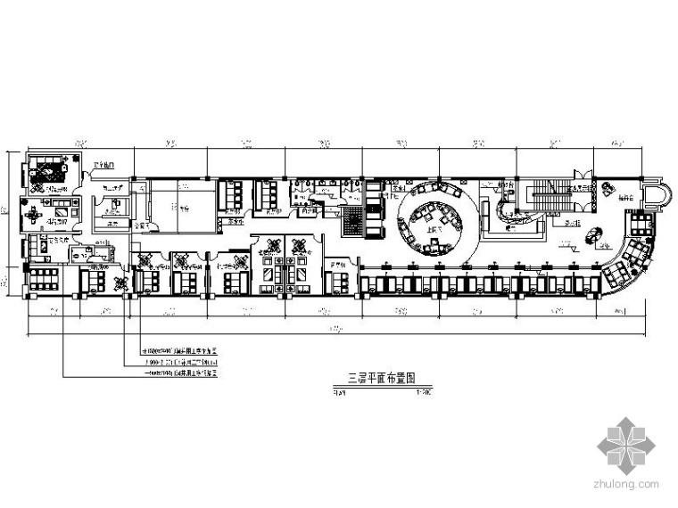 [湖南]某咖啡西餐厅室内装修全套施工图纸