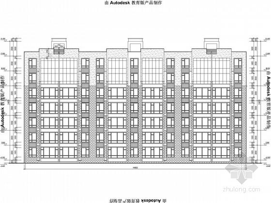 [2014年2月]7层框架住宅结构图(含建施)
