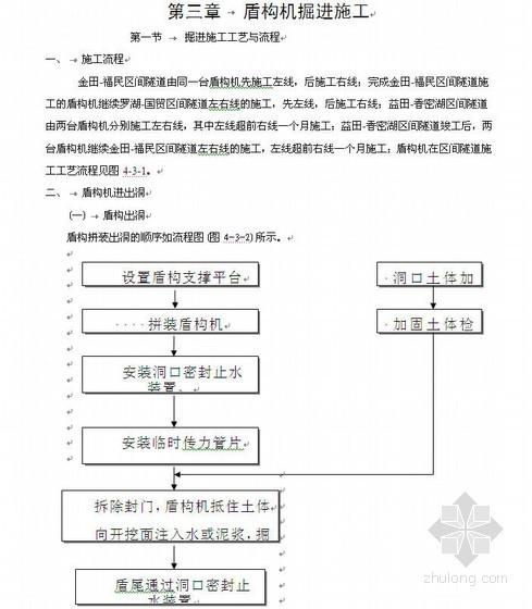深圳地铁盾构区间工程施工组织设计(投标)