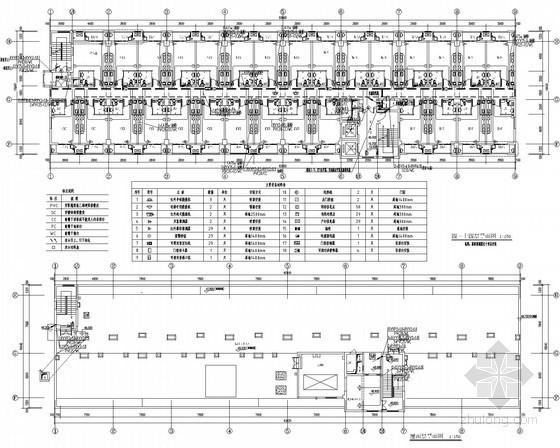 [浙江]职工宿舍弱电全套施工图(系统齐全 附清单点表)