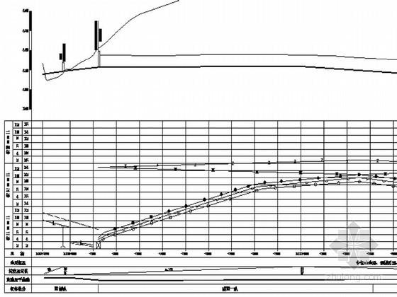 分离式进度工程施工形象隧道图CADv进度球联轴器图纸笼图片